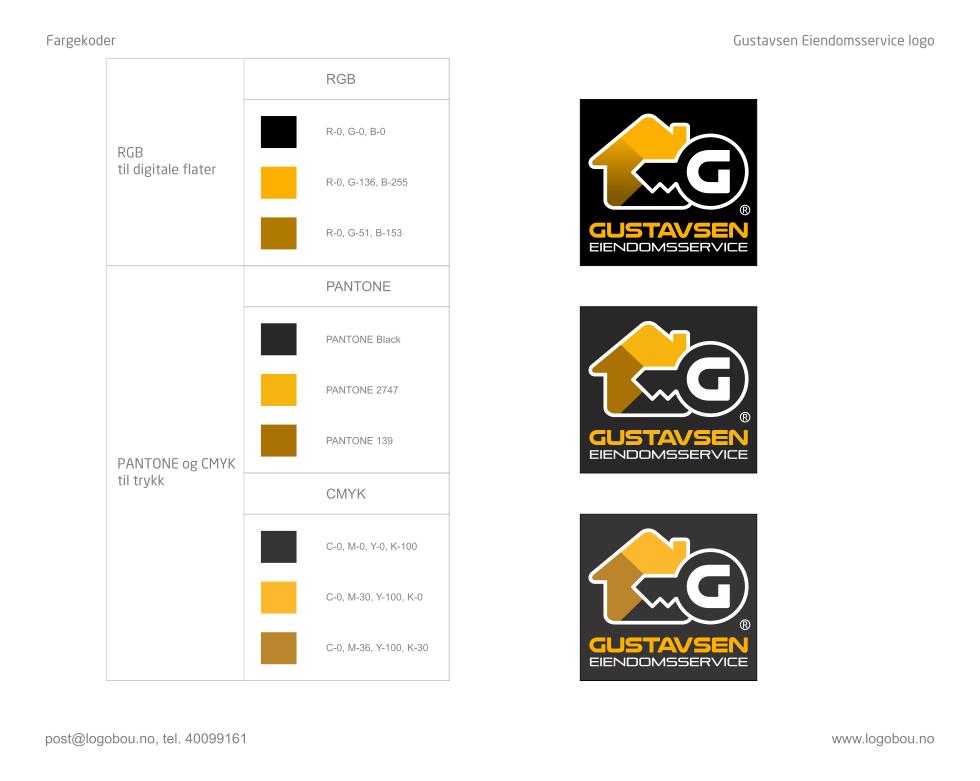 Gustavsen Visual Identity / Logobou 3