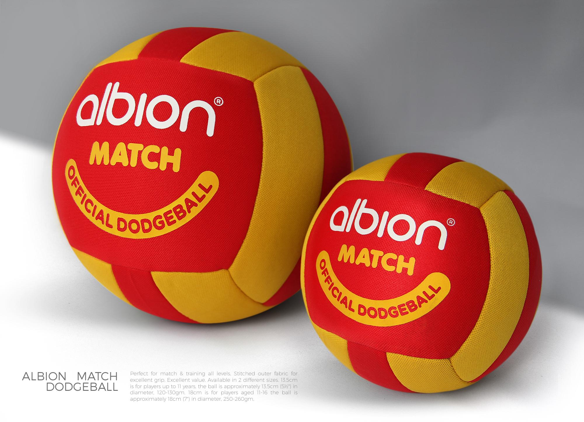 Albion Match Dodgeball / Rebranding / Logobou 2
