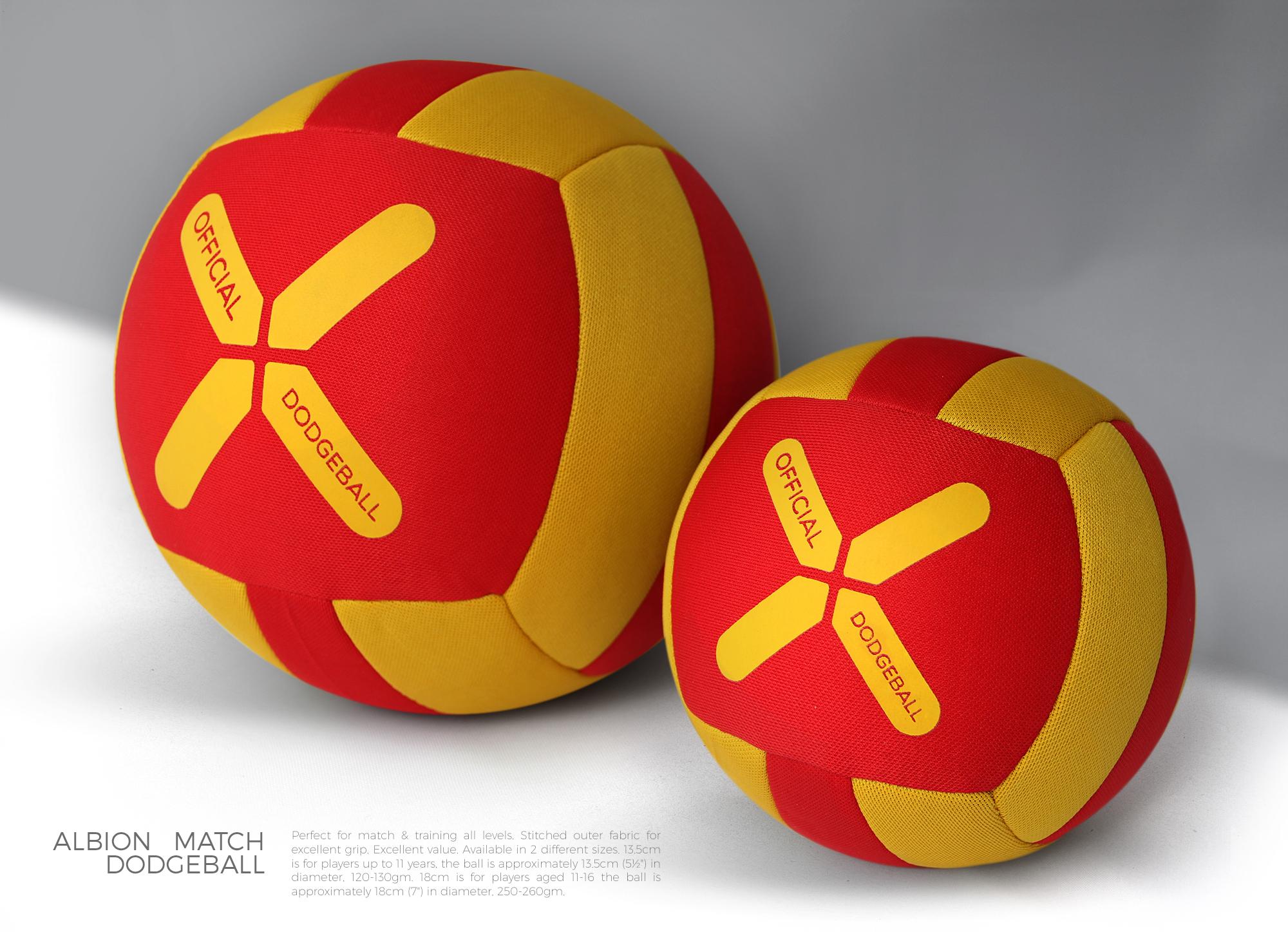 Albion Match Dodgeball / Rebranding / Logobou