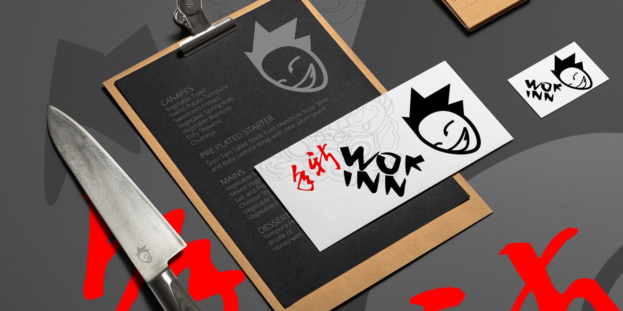 Wok Inn Visual Identity / Logobou