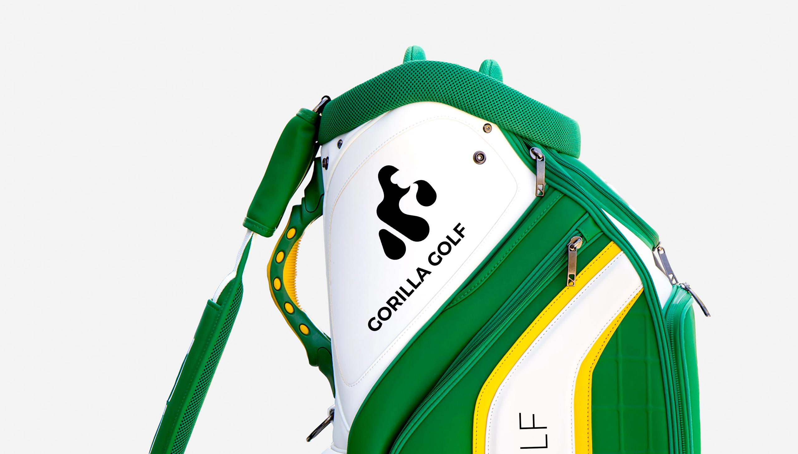Gorilla Golf Branding Logobou Design 3