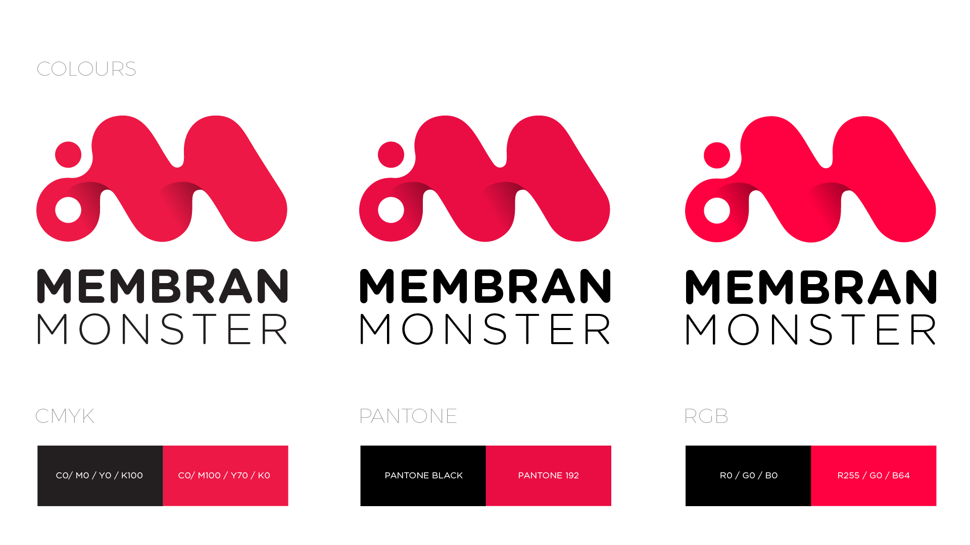 Membran Monsters / Visual Identity / Logobou 5