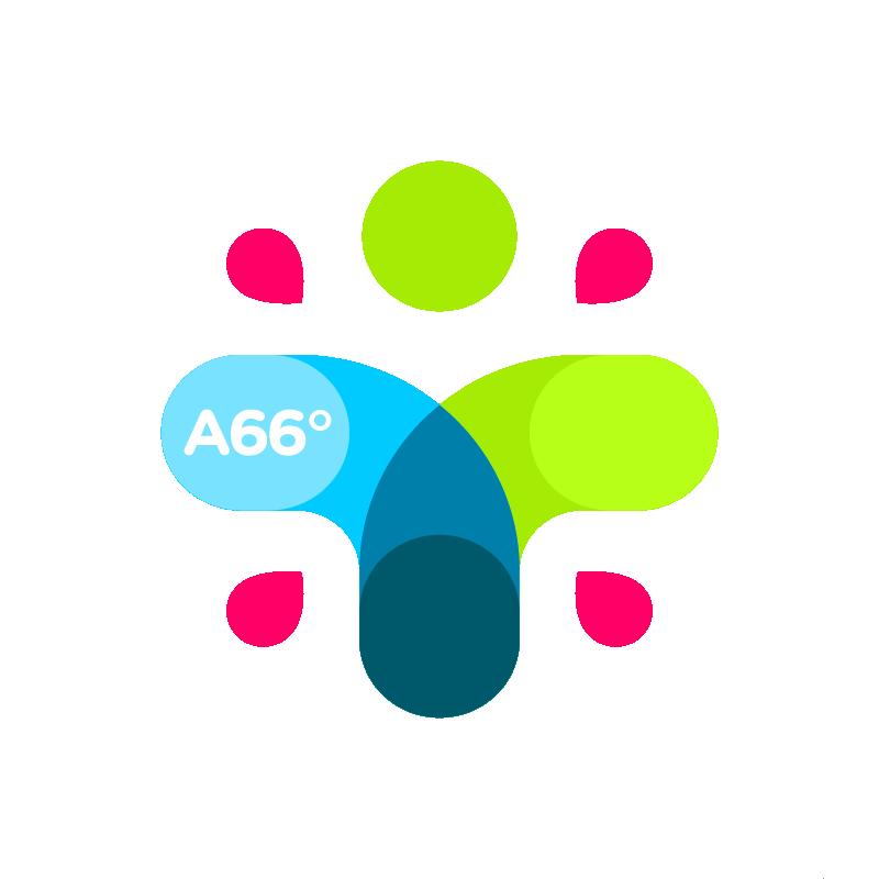 A66 Brand Visual Identity / Logobou
