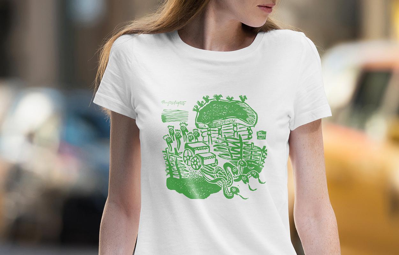 Daiva Vitkute T-shirt 1 / Logobou