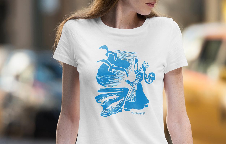 Daiva Vitkute T-shirt 2 / Logobou