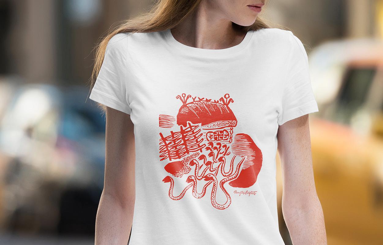 Daiva Vitkute T-shirt 3 / Logobou