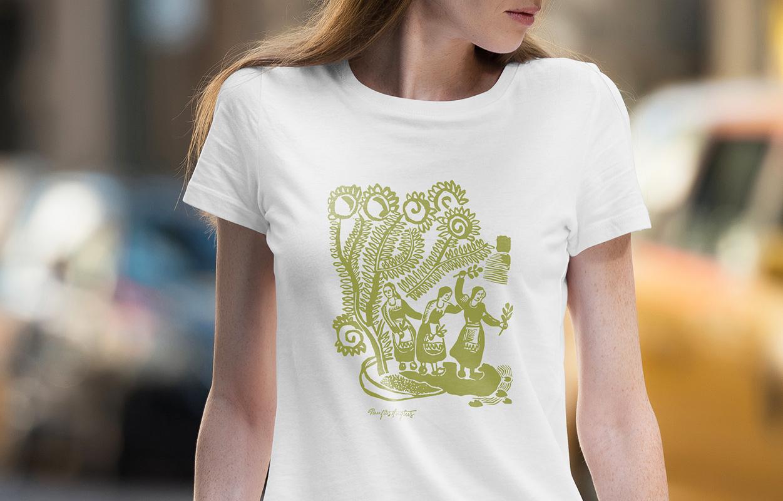 Daiva Vitkute T-shirt 4 / Logobou