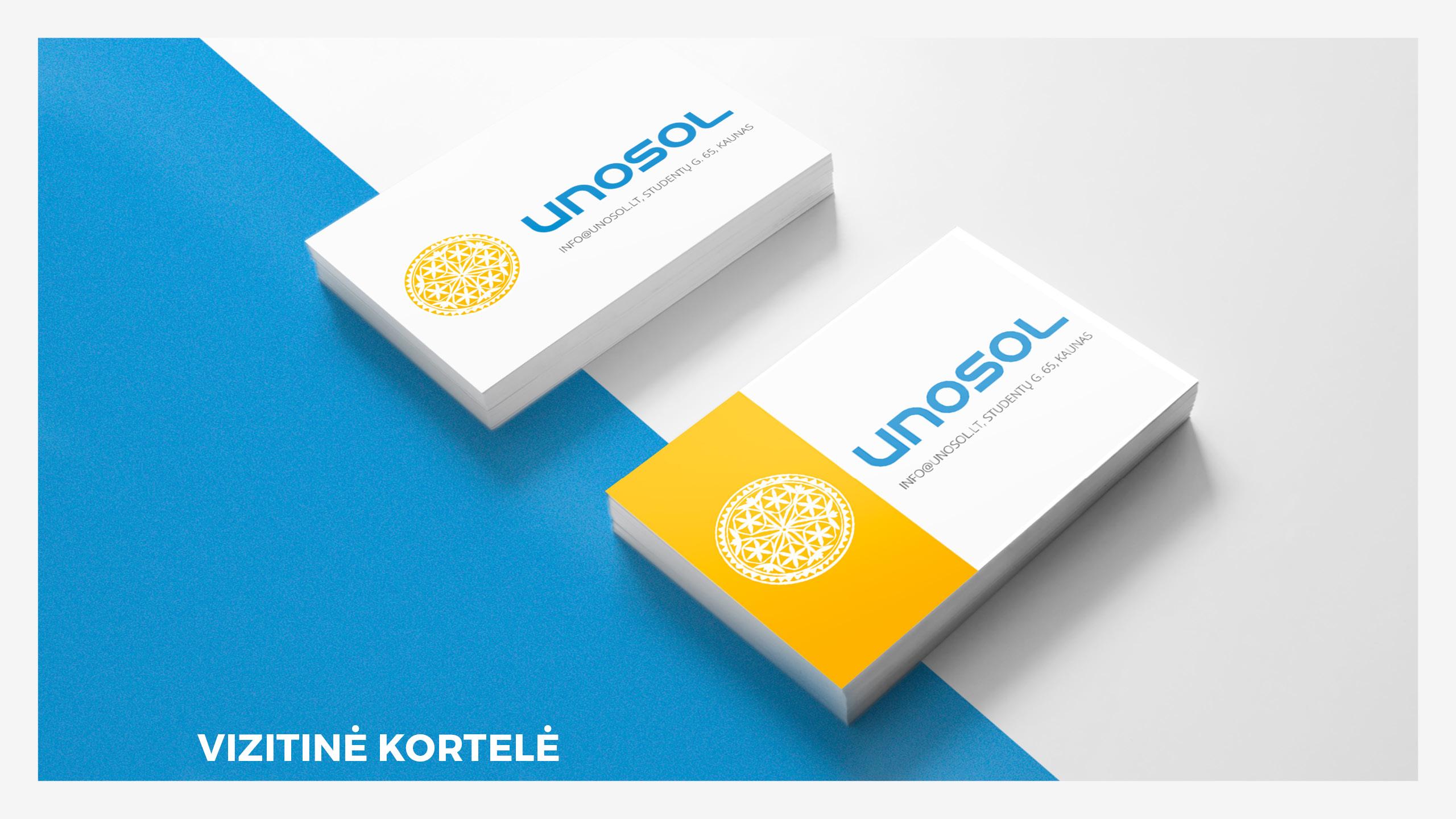 UNOSOL Vizualinio Identiteto vadovas 16 / Logobou design