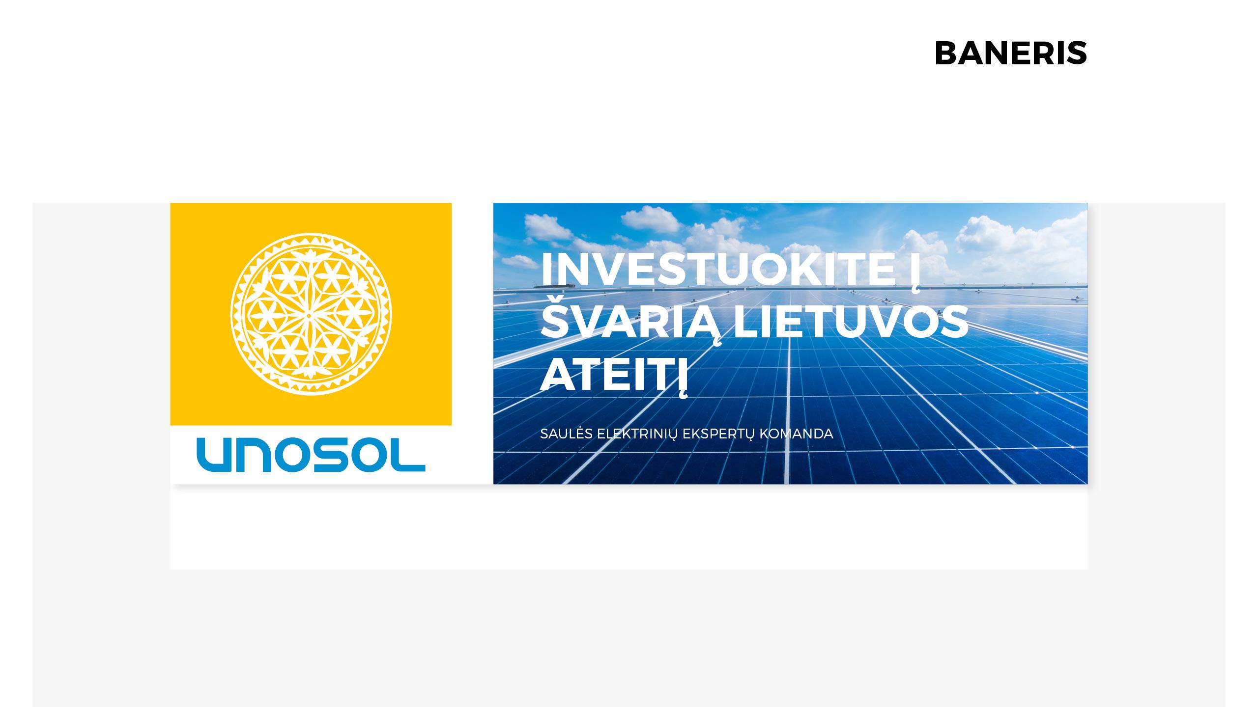 UNOSOL Vizualinio Identiteto vadovas 19 / Logobou design