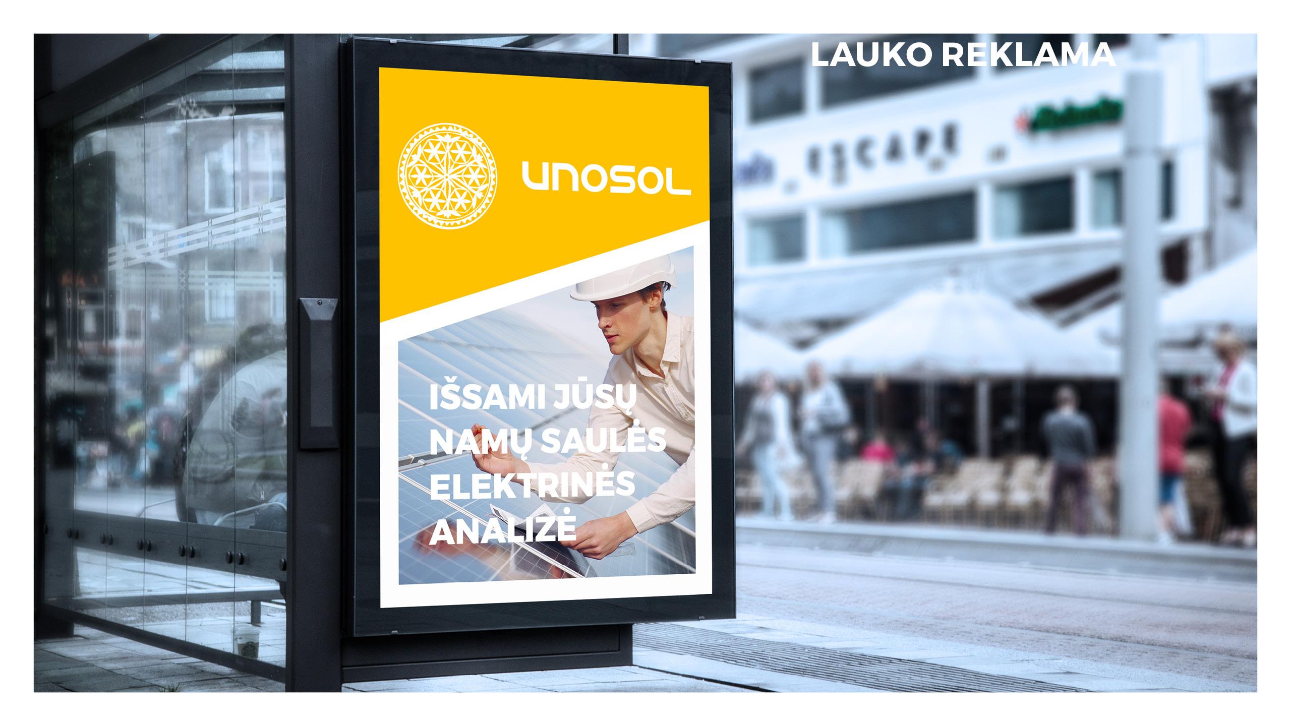 UNOSOL Vizualinio Identiteto vadovas 20 / Logobou design