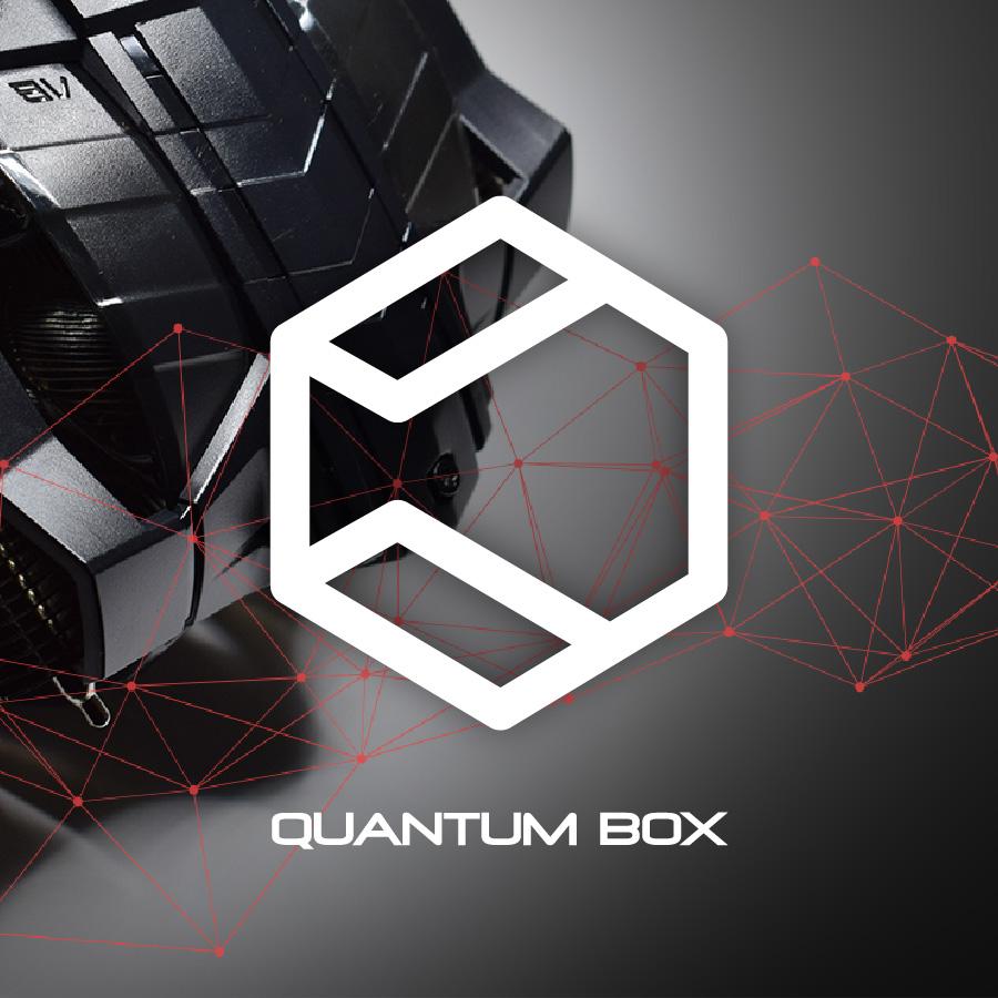 quantum box / logobou design