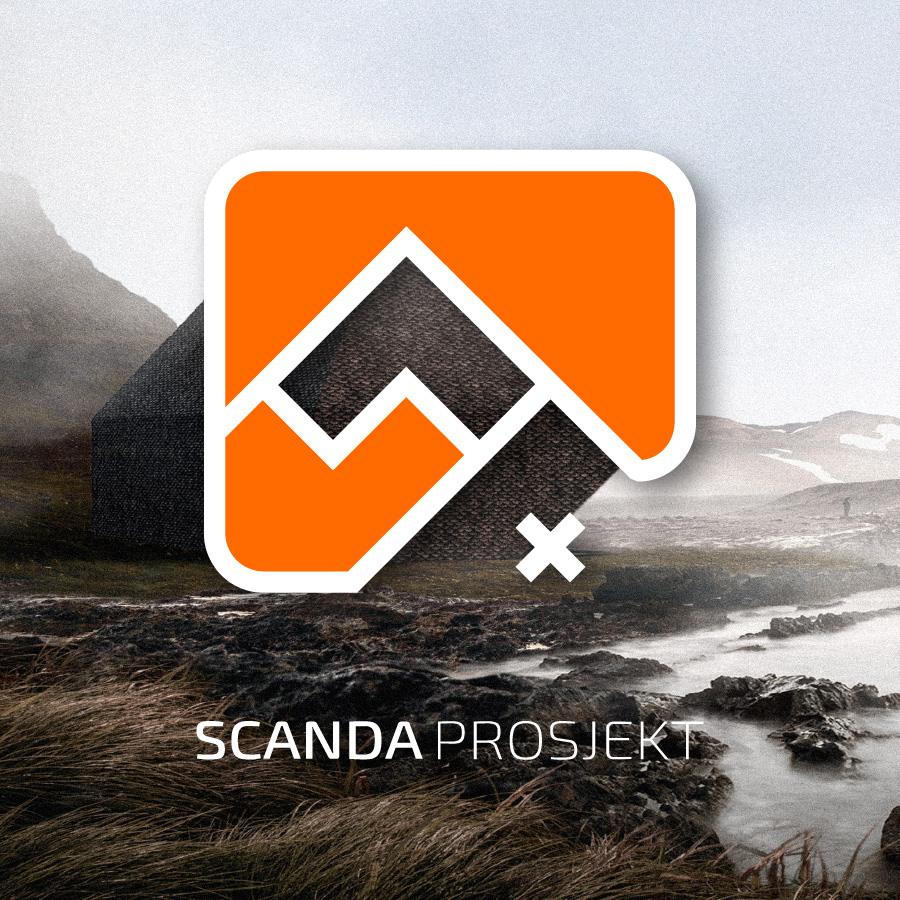 scanda prosjekt / logobou design