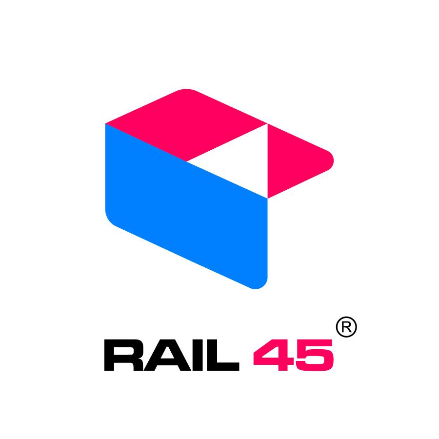 Rail 45 logo / logobou design