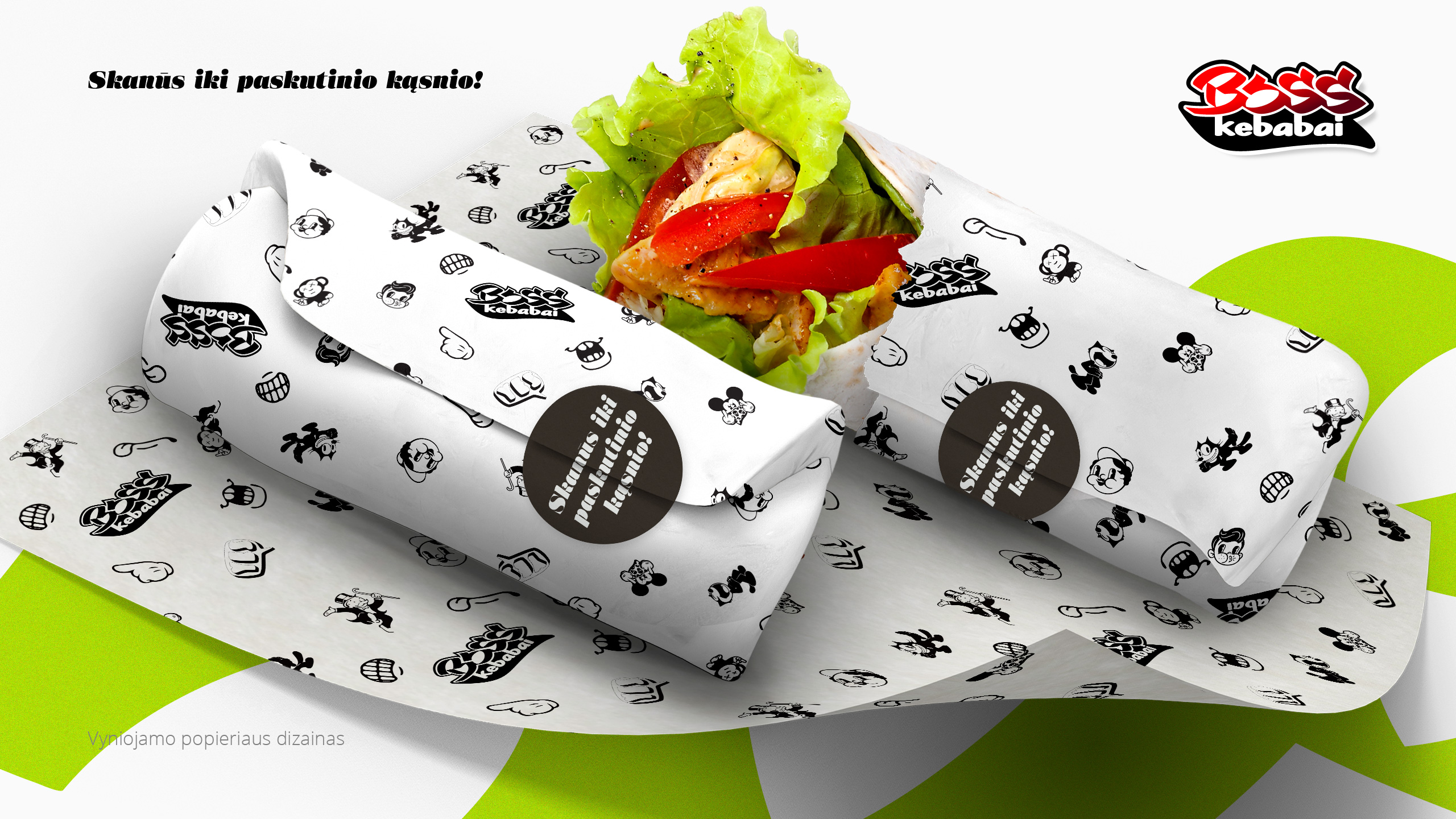 BOSS kebabai 1 branding - Logobou Desing
