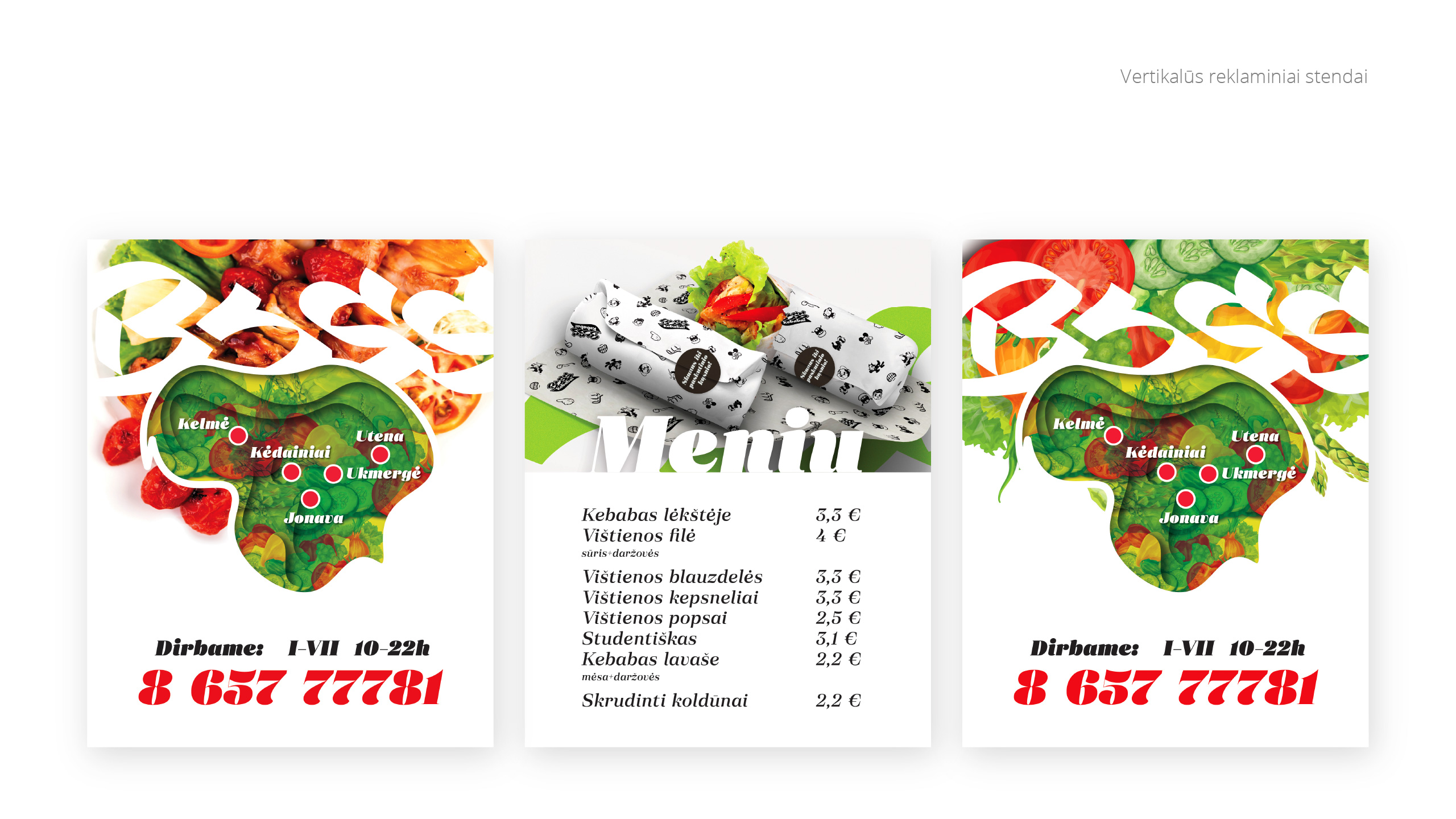 BOSS kebabai 5 branding - Logobou Desing