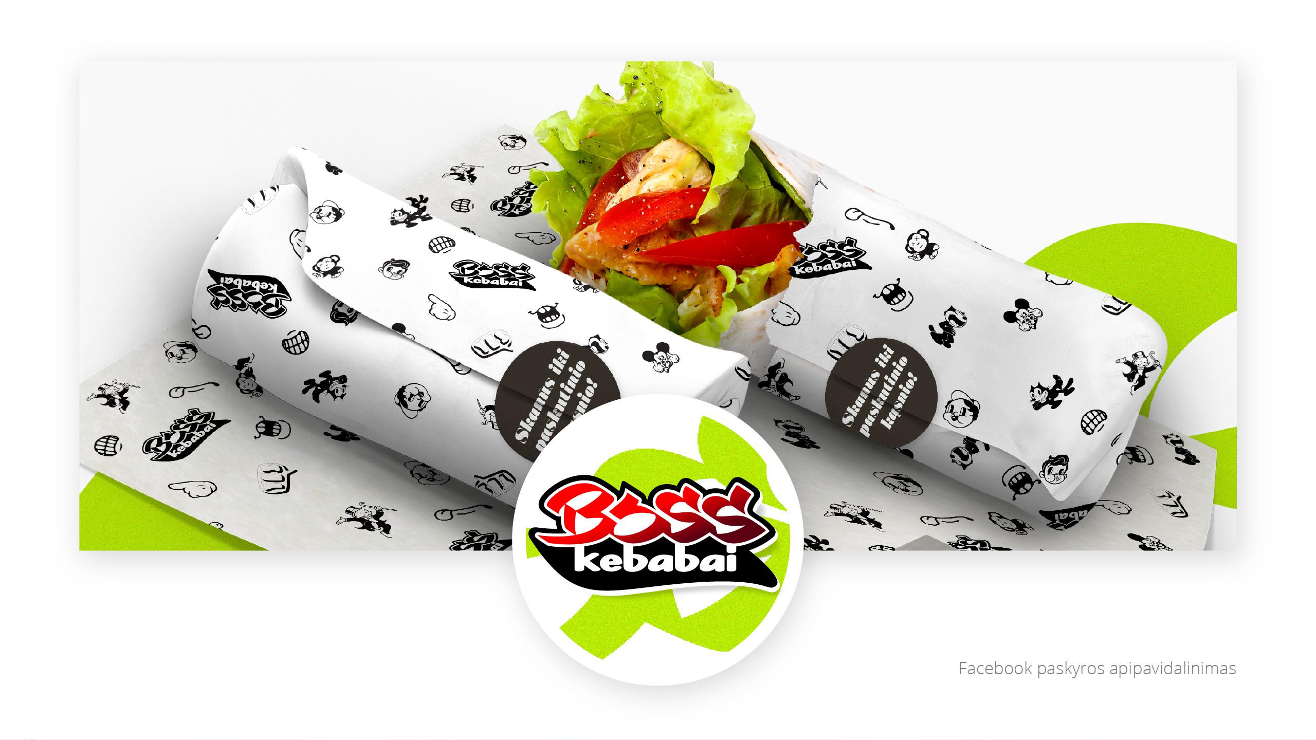 BOSS kebabai 7 branding - Logobou Desing